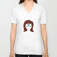 "daria V-neck T-shirts featuring The Daria - ""That's Nice"" by Stevie NYC"