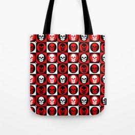 Skull Pattern | Pop Art Tote Bag