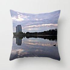 Grenadier Pond, High Park Throw Pillow