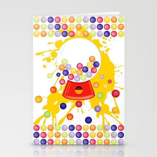 Gumball_Machine Stationery Cards
