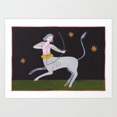 The Most Incredible Archer was a Sagittarius Art Print