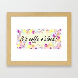 Coffe Framed Art Print
