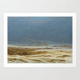 Northern Landscape, Spring Art Print