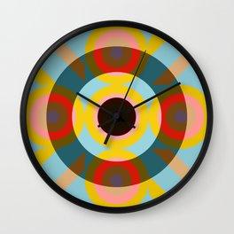 Rhenus - Colorful Decorative Abstract Art Pattern Wall Clock