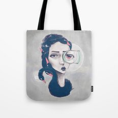 Rare Royal through the looking glass Tote Bag