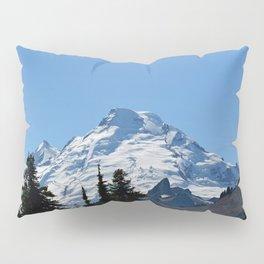 Snow Cap on the Mountain Pillow Sham