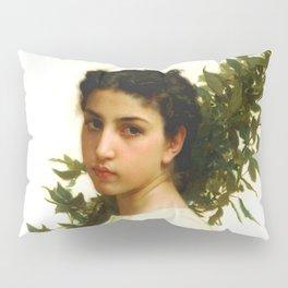 "William-Adolphe Bouguereau ""Laurel Branch"" Pillow Sham"