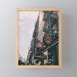 Ferrara Bakery in Little Italy Framed Mini Art Print