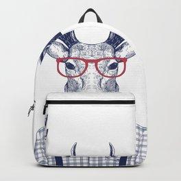 MR DEER WITH GLASSES Backpack