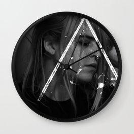 Clitoral Gin II Wall Clock