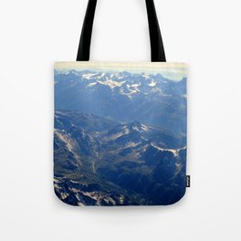 Swiss Alps Tote Bag