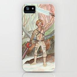 Groovy Luke iPhone Case