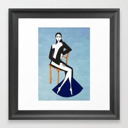 Henri Matisse inspired fashion #1 Framed Art Print