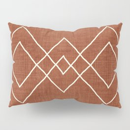 Nudo in Rust Pillow Sham