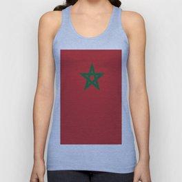Flag of marocco Unisex Tank Top