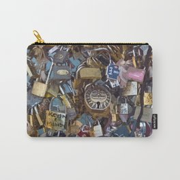 Love Locks Paris Carry-All Pouch