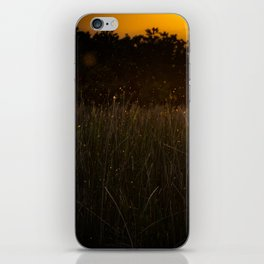 Sunset in the Fields iPhone Skin