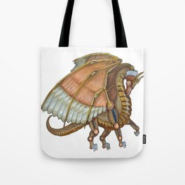 Dragon Steam Tote Bag