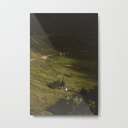 Bothy, Scotland Metal Print