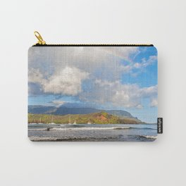 Rainbow Over Hanalei Bay Carry-All Pouch