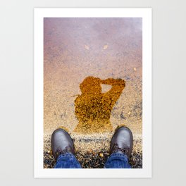 My Self Portrait Art Print