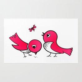 Cute little birds Rug
