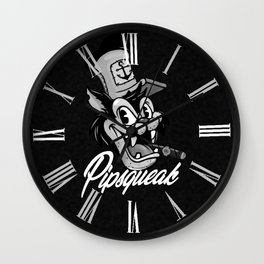 Pipsqueak Pete Wall Clock