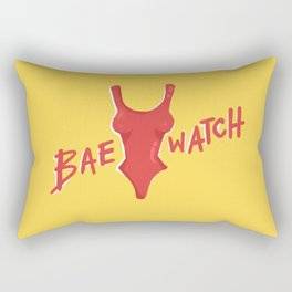 Bae-watch Rectangular Pillow