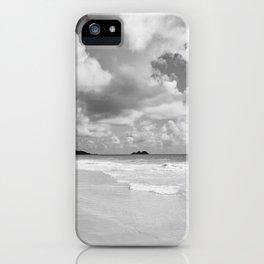 Monochrome Hawaii iPhone Case