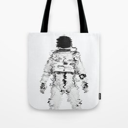 Melted spaceman Tote Bag