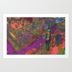 Ipaneman Dreams Art Print