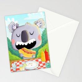 Koala pic nic Stationery Cards