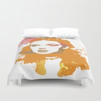 dorothy Duvet Covers featuring Dorothy by BIG Colours