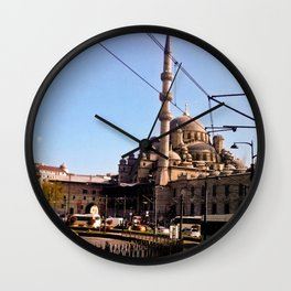 The last mosque. Wall Clock