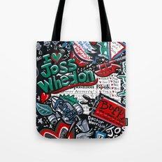I heart Joss Whedon Tote Bag
