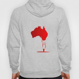 Australia Melting Down Hoody
