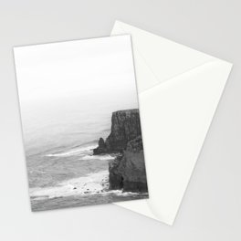 Cliffs Of Moher In Fog Stationery Cards