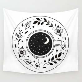 A Cup of Moonshine  Wall Tapestry