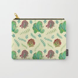 Paddle Plant Pattern Carry-All Pouch