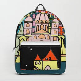 Budapest at night Backpack