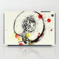 peach iPad Cases featuring Peach by Mitja Bokun