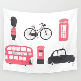 London Town Wall Tapestry