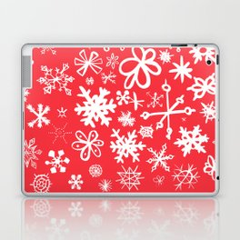 Snowflakes Laptop & iPad Skin