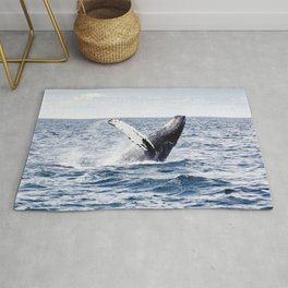 Humpback Whale Ocean Rug