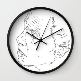 NOORD portrait #3 / Wall Clock