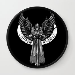 Savage Angels MC Wall Clock