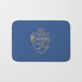 Ravenclaw Inspired Crest Bath Mat