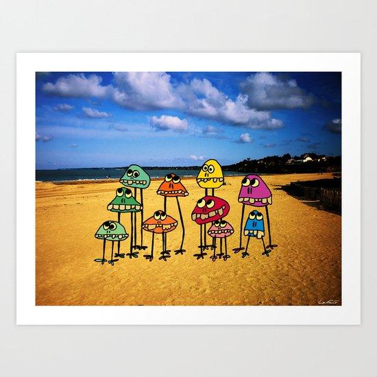 - family sea - Art Print