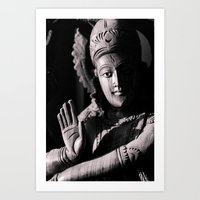 shiva Art Prints featuring Shiva by Justin Henderson