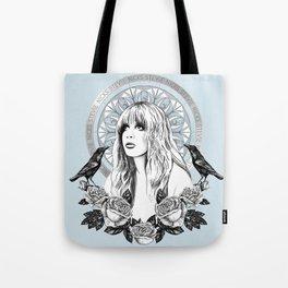 Stevie Nicks Angel Of Dreams Tote Bag